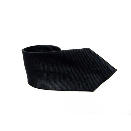 Krawat CZARNY 7cm CZ1